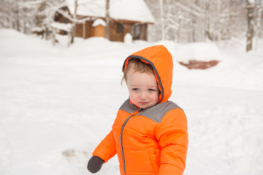 Adirondack Park, NY   New Year's Family Sledding Photoshoot