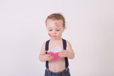 Westchester, NY | Valentine's Day Baby Photoshoot